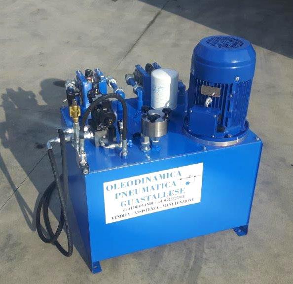 Centrale oleodinamica customizzata